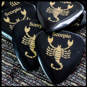 Zodiac Tones - Scorpio - 1 Guitar Pick | Timber Tones